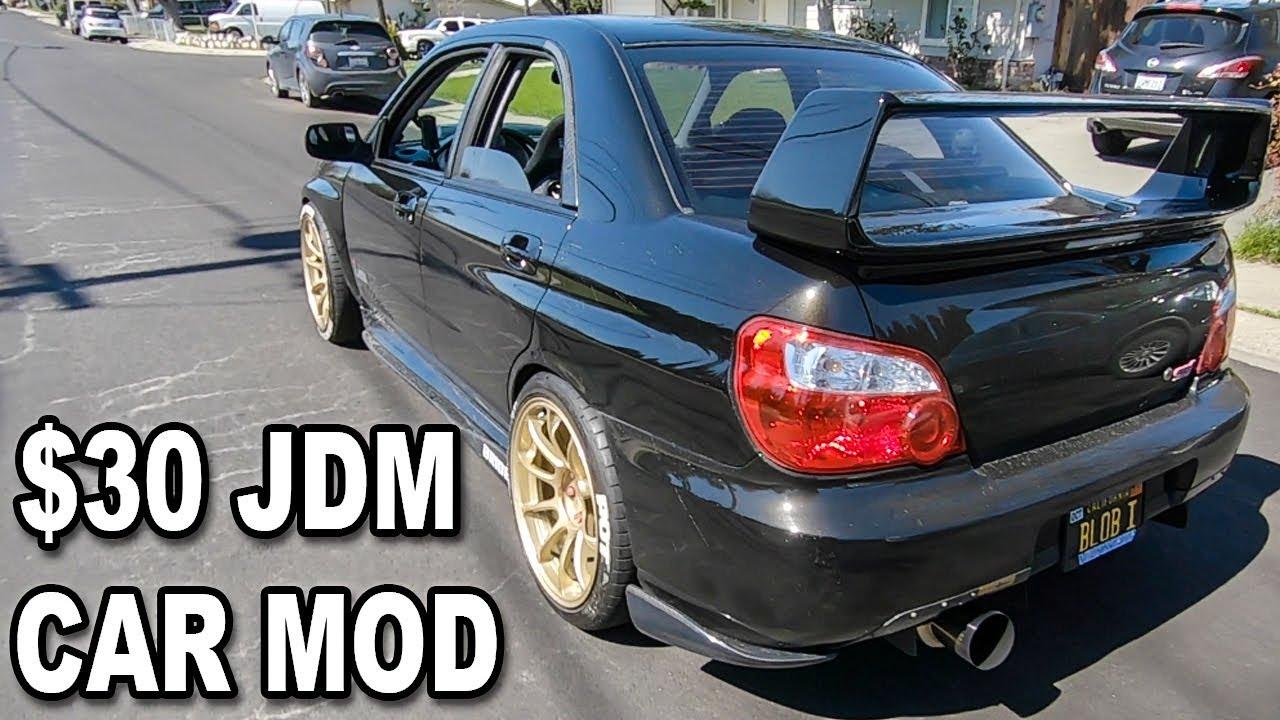 the laziest car mod ever 2004 subaru wrx sti youtube the laziest car mod ever 2004 subaru wrx sti