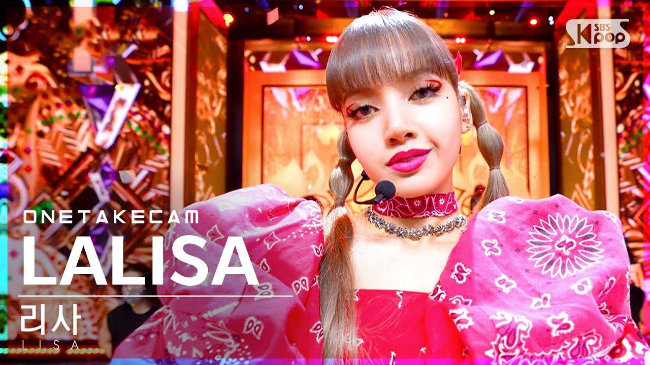 Download [단독샷캠] 리사 'LALISA' 단독샷 별도녹화│LISA ONE TAKE STAGE│@SBS Inkigayo_2021.09.19.