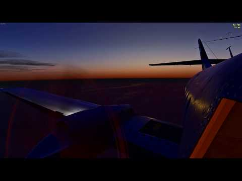 X plane 11| Bae 32 Jetstream| Scandinavia Tour Episode 1| Oslo - Sweden | Night Approach