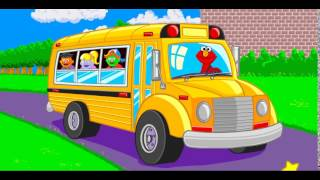 Elmo: Wheels On The Bus For Toddlers   Sesame Street