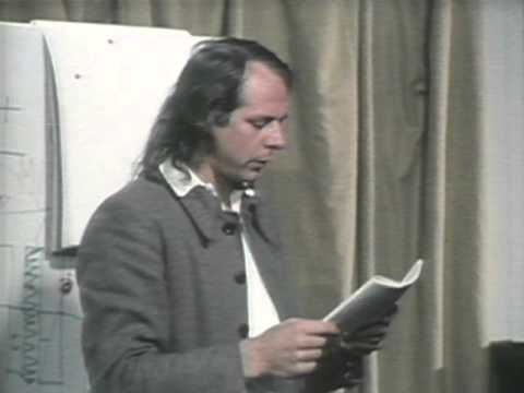 Lecture 4 [Part 1/2] Karlheinz Stockhausen -  Intuitive Music (IT) (1972)