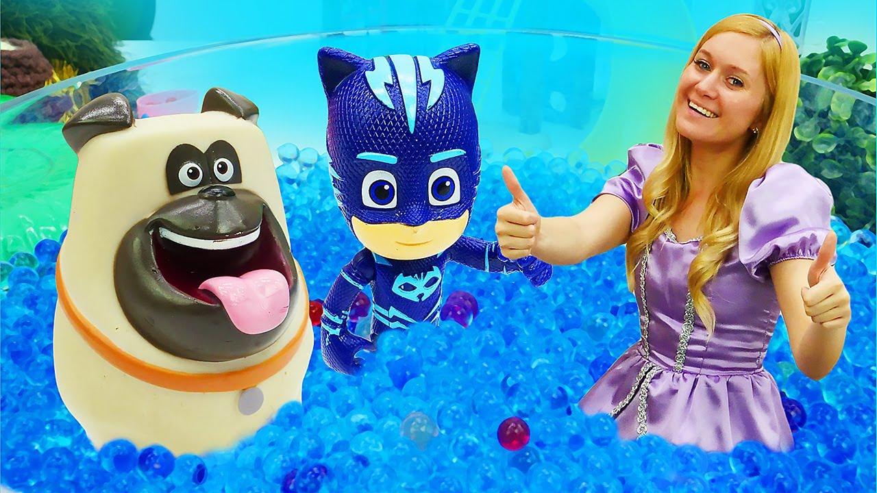 Spielzeug Video mit Prinzessin Sofia - Wasserpark - Kindervideo aus dem Magischen Schloss