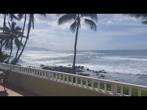Oahu North Shore Beach Front Rental 3000sq' Two Stories