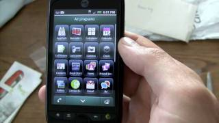 T-Mobile myTouch 3G Slide Unboxing