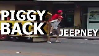[ORIGINAL] Piggy Back Jeepney Prank Olongapo City