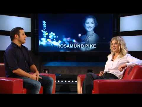 Rosamund Pike on Aging and Miniskirts