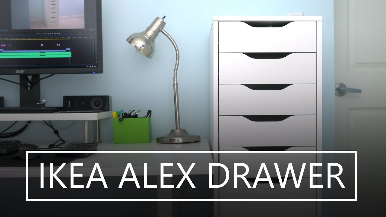 IKEA ALEX 9 Drawer Cabinet How To Assemble Guide