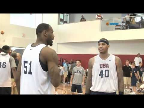 Carmelo Anthony - Team USA on his Importance