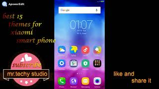 Best 15 Themes and Launcher  for xiaomi phone { samsung . vivo ,iphones}
