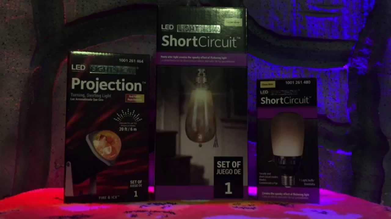 home depot halloween flicker projection led light review test youtube - Led Christmas Lights Home Depot
