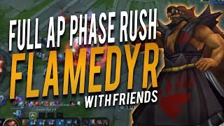 EVERYTHING IS BROKEN! | FULL AP PHASE RUSH UDYR W/ FRIENDS - Trick2G