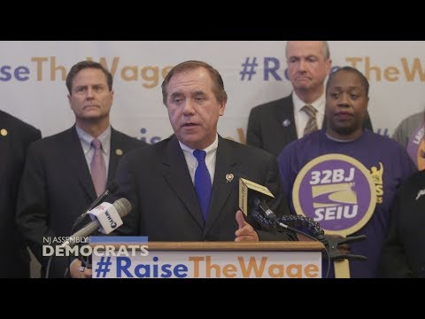 Coughlin & Top NJ Dems on Plans to Raise Minimum Wage