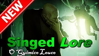 (Rework Warwick?) Nova Singed Lore PROJETANDO O PESADELO League of legends