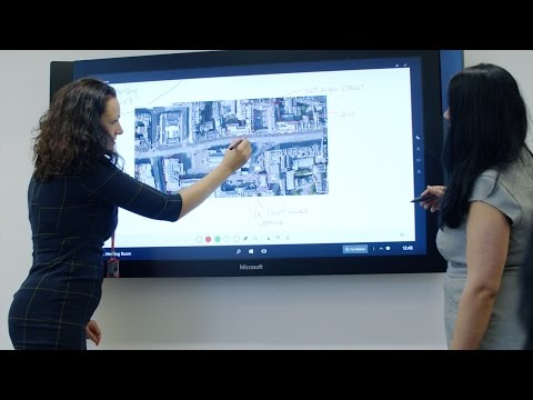Surface Hub is powering collaboration at City of Edinburgh C