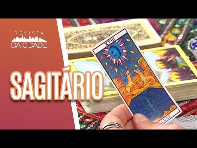 Previsão de Sagitário 22/11 a 21/12 - Revista da Cidade (11/03/19)