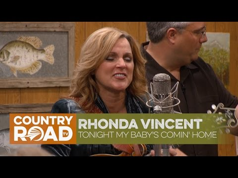 "Rhonda Vincent sings ""Tonight My Baby's Comin' Home"""