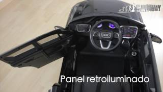 Coche eléctrico para niño Audi Q7 - SABWAY