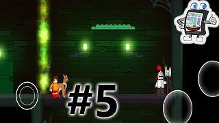 LEGO SCOOBY DOO App deutsch #5 | schwarzer Ritter wirft mit Axt und lässt Burg einstürzen