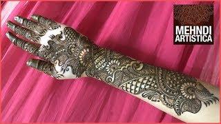 Gambar cover Bridal Design Henna | 2017 Mehndi Design For Hands by MehndiArtistica
