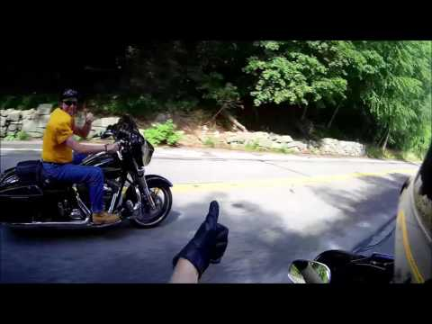 Riding to the Delaware Water Gap