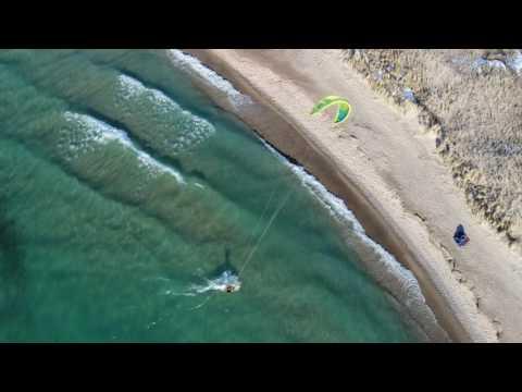 Raw Vid of Kite Boarders