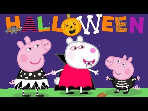 Peppa Pig - Halloween Costumes - Halloween Dressup! 🎃 - Learning With Peppa Pig