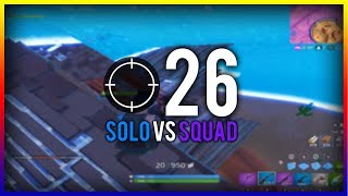 me killing a lot of players in fortnite battle royale