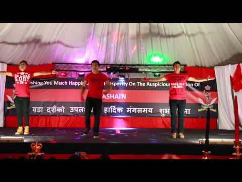 'Aaj Ki Party Remix' York Dashain Party 2015 in HD