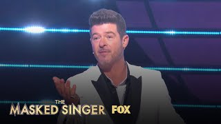 Robin Guesses Justin Guarini For Turtle | Season 3 Ep. 16 | THE MASKED SINGER