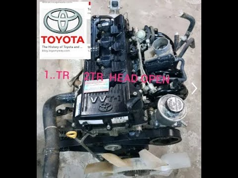 How to open Toyota 1TR       2TR    engine hate
