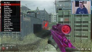 PRO SPAWNTRAP vs MODDER 1v1 on Modern Warfare Remastered (MWR: Hacker 1v1)