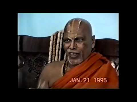 Sri Rangapriya Swami on Saligrama (January 1995)