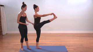 The Yoga Collective - Lauren Eckstrom - Hand to Big Toe Pose (Variation 1)
