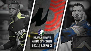 Milwaukee Wave vs Kansas City Comets