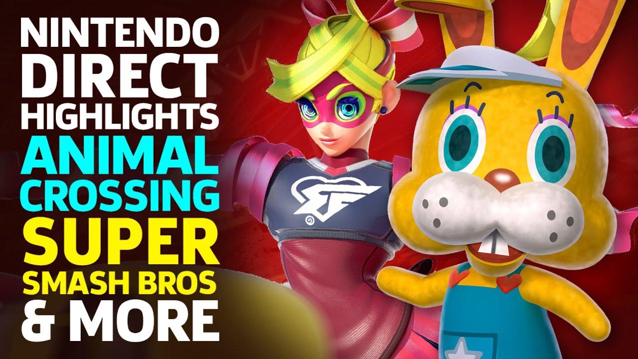 Nintendo Direct Highlights: Animal Crossing, Super Smash Bros, & More thumbnail