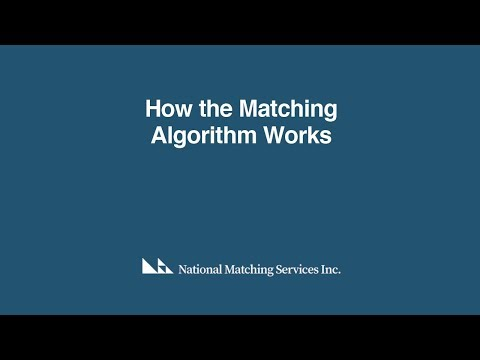 The Matching Algorithm - Explained
