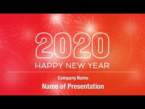 Happy new year 2020 powerpoint template backgrounds happy new year 2020 powerpoint template backgrounds digitalofficepro 00883w toneelgroepblik Image collections