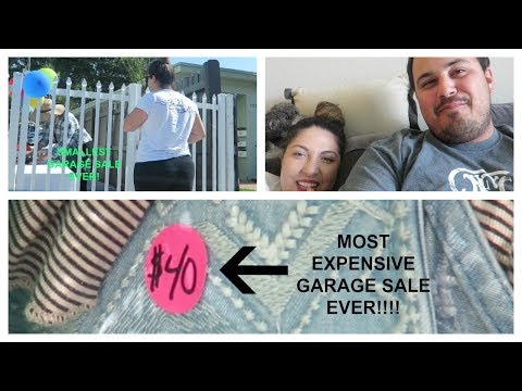 Garage Sale FAIL + My fiance is joining the business!?!?