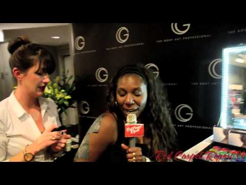 G The Body Art Professionals at GBK's 2013 Oscars Gift Lounge @GBK_Productions