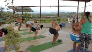 Yoga At Villas Jacquelina Bed And Breakfast Quepos Costa Rica