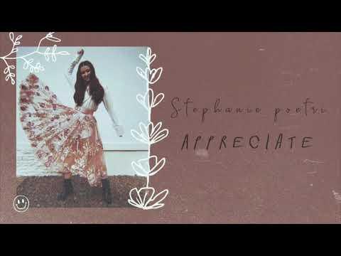 Stephanie Poetri - Appreciate Lirik