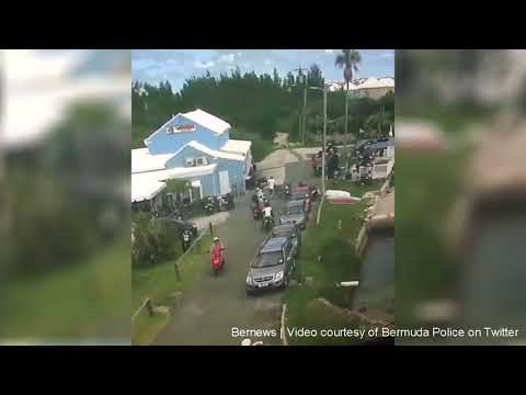 Visitor Crashes Moped Overboard, June 2018