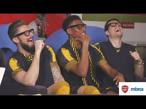 Arsenal stars become MBNA homework heroes for the day