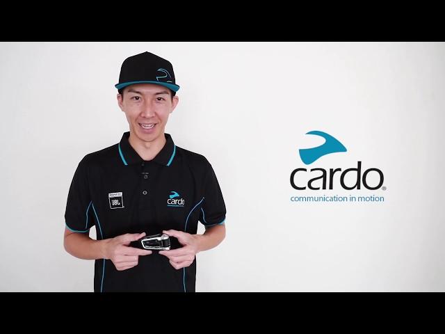 Cardo Packtalk Bold     電源ONOFF 携帯ペアリング