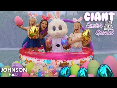 OUR GIANT EASTER SPECIAL! 🐰 The Johnson Fam
