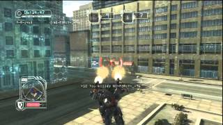 [HD]Transformers Revenge of the Fallen Optimus Prime Team deathmatch in Freeway