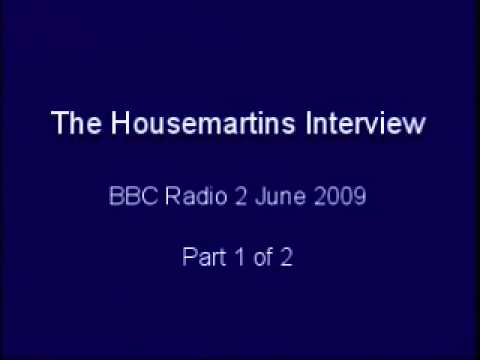 The Housemartins Interview - part 1 - 2009