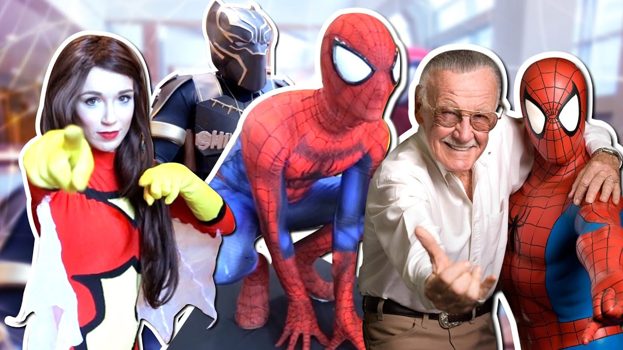 Spider Man Sings Stan Lee Happy Birthday 2017 Comic Con Fan Film At