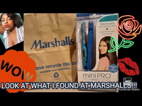 YOU WONT BELIEVE WHAT I FOUND AT MARSHALL'S!!! (Conair Mini Pro Review)