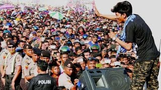 Bergek dan Zuhra : Gaseh ka leukang di stadion kuta asan sigli Aceh